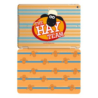 "Smiled sheep genuine authority (Shaun The Sheep) -iPad crystal shell: [The HAY Team] ""iPad Mini"" Crystal Case (Orange) + Smart Cover (Orange)"