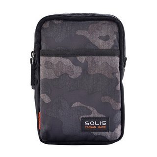 "SOLIS Hunting Camo Series 5.5"" mobile phone multi-purpose bag(charcoal)"
