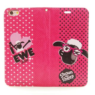 "Smiled sheep genuine authority (Shaun The Sheep) - Magnetic phone holster (Rose): [Vogue] ""iPhone / Samsung / HTC / ASUS / Sony"""