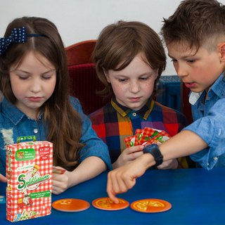 THE BRAINY BAND - Pizza - Russian Kids Board Games - Strengthening STEAM Education