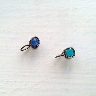 Turquoise Painless Clip-on earrings