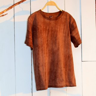 Comfortable hand-dyed isvara vegetation dyed cotton T-shirt gorgeous