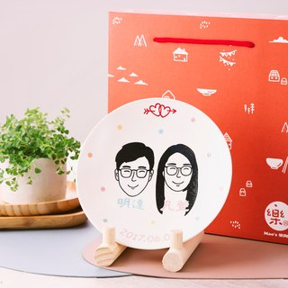 [customized large-scale] portrait simple version (with wooden frame) (shipped on November 16)