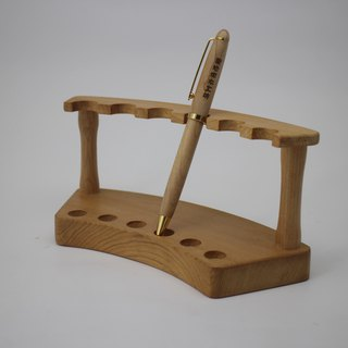 Wood pen holder / pen holder Taiwan Elm
