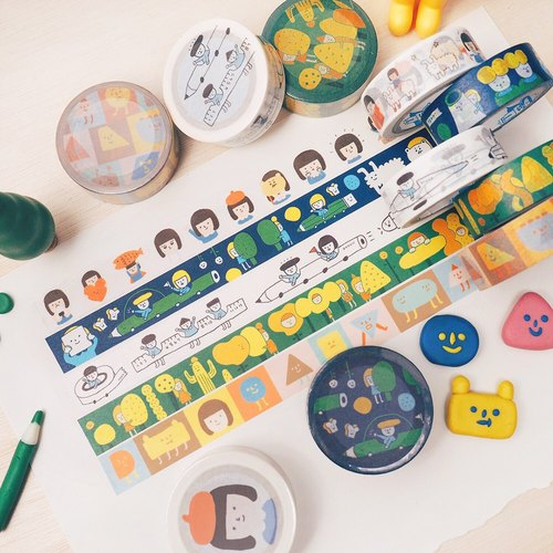 Full Set of 5 - Washi Tape - Version 4