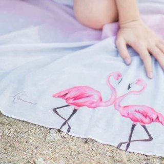 Romantic Flamingo Scarf