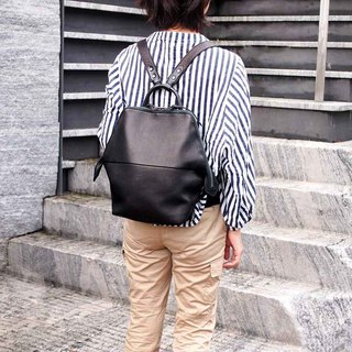 Japanese Metropolitan Fashion Neck Backpack Made in Japan by LESS DESIGN