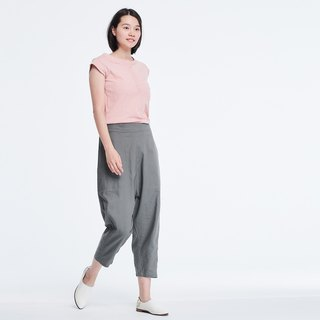Max Pockets Low Waist Wide Leg Pants /Grey