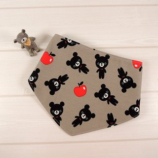Scarf bibs - Cute Bear