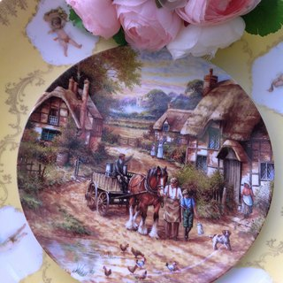 British-made Wedgwood limited edition hand-painted plate is worth collecting ~ inventory new