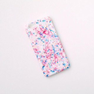 "[Order Production] iPhone / Galaxy / Xperia Case ""Pink and Mistyro's Snow Leaves Sun"""