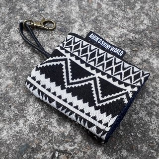 AMIN'S SHINY WORLD Handmade Ethnic Wind Braided Key Bag 04