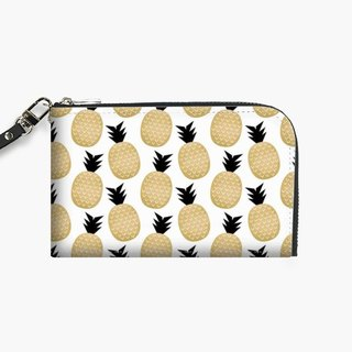Snupped Isotope - Phone Pouch - Golden Pineapples
