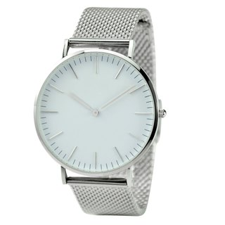 Classic Minimalist Watch with Mesh Band - Free shipping worldwide