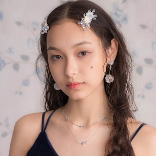 Rainshower Floral Hair Clip