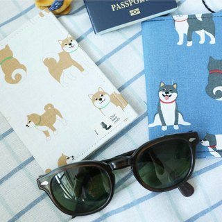 Passport Holder Passport Holder / Clip | Shiba Inu x Two Colors