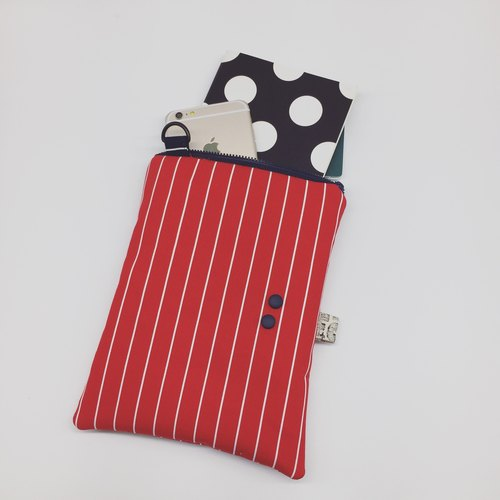HEY !! Upright treasure package <Button Muji red>