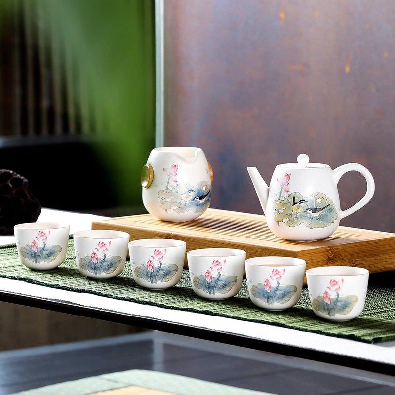 荷塘趣8入禮盒(壺+海+6杯)