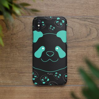 iphone case big blue panda for iphone5s,6s,6s plus,7,7+, 8, 8+,iphone x