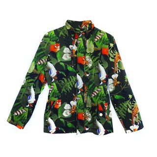 Camouflage Safari Jacket
