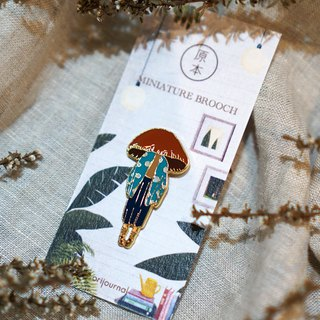 Miss Mushy's Hostel - Miss Mora Brooch/Pin