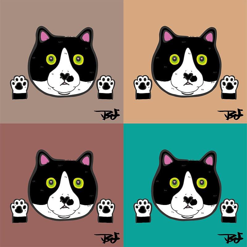 寵物客製化似顏繪 l 人像插畫 l 生日禮物 l 電子檔