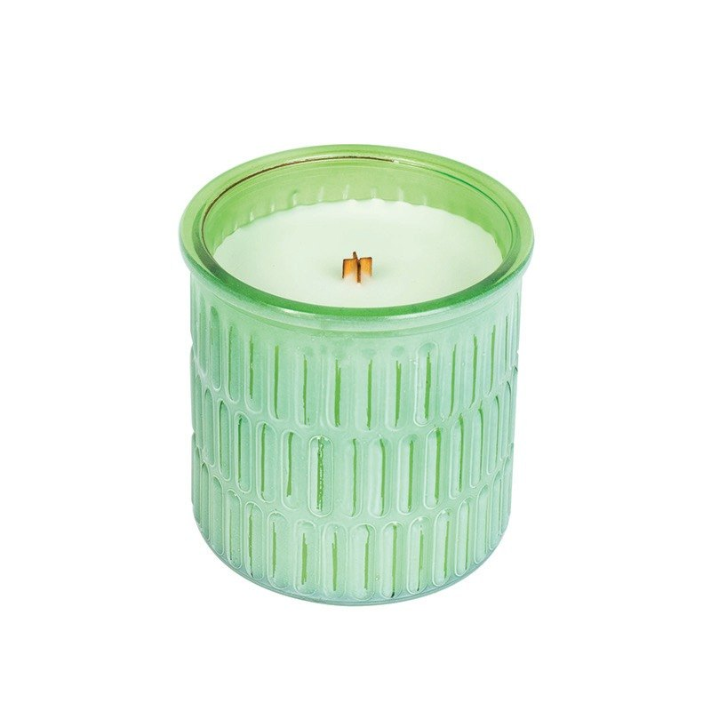 【VIVAWANG】 11.5oz Watercolor Edition Cup Wax - Lime Snow Bay
