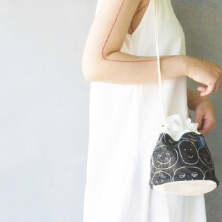 Side bucket bag _ smile