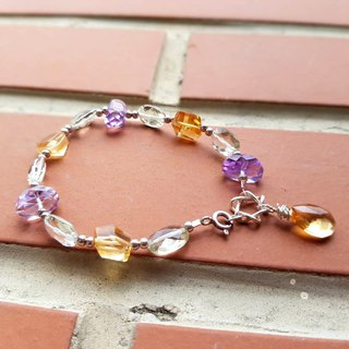 Girl Crystal World-【美しいの清透】-Green Crystal Handmade Natural Crystal Bracelet