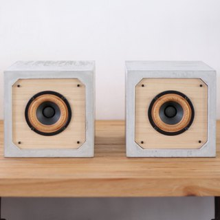 3吋 full range passive square cement speaker C