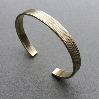 Fury Hand Wrought Brass Bracelet