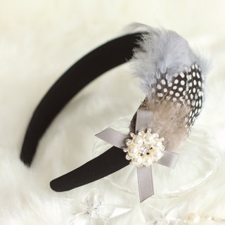 Feather with Ribbon Decoration Headband