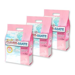 CEVER-MATE Certified Cat Litter Added to Filter Wine - Delicate Baby Floral (6.35 kg x 3 Pack)