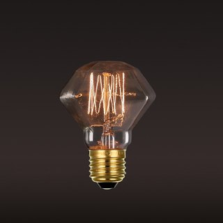 Retro ‧ Edison ‧ tungsten bulb ‧ small diamond (A) bulb │ Good Form ‧ good shape