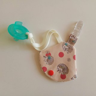 Hedgehog nipple dust jacket clip nipple clip + pacifier sleeve vanilla nipple available pacifier bag