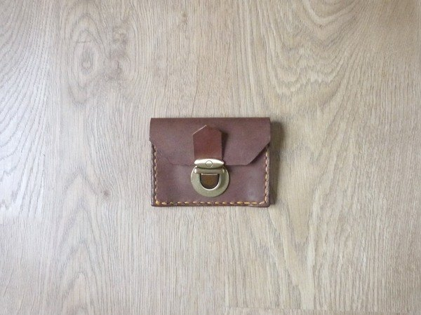 Youyou card VISA card + change leather bag