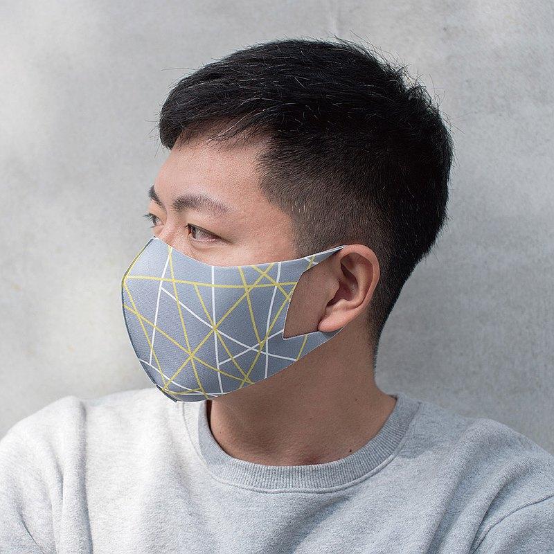 立體線條─3D立體透氣抗菌口罩