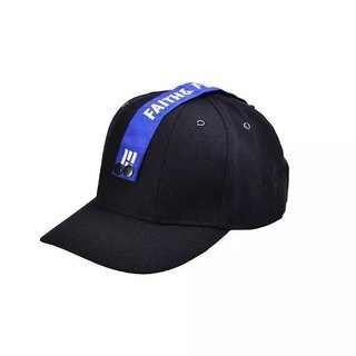 Faith & Fearless Cap_BaseBall Black