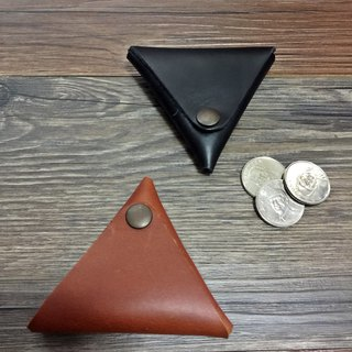 Nora triangle rice ball small coin bag