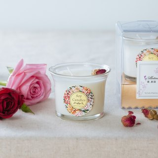 [Enthusiastic (Rose)] Passion (Rose) Skin Care Fragrance Candle Dry Flower / Birthday Gift