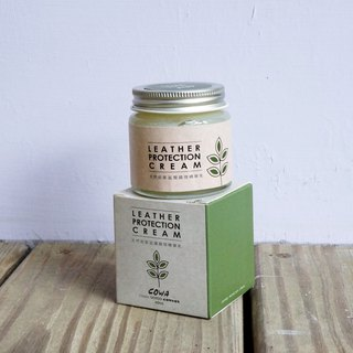 Natural leather moisturizing conditioning cream