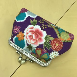 Japanese Floral Mini Cosmetic Bag | Girlskioku~*
