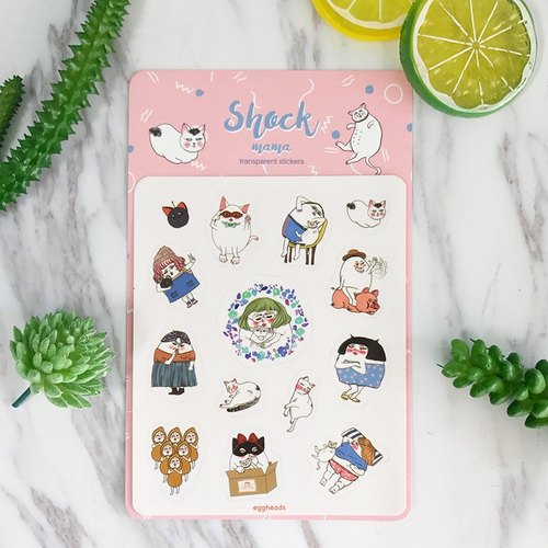 Cat lover / Die cut small stickers