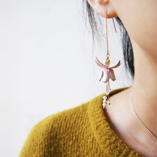 Pinkoi School of Fine Arts, October Deep Exploration, 嬷嬷murmur, lily of the valley earrings/pin creation