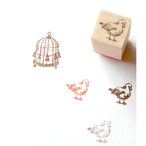 Mini stamp / Bird
