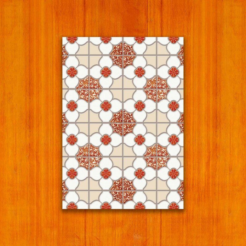 Old House - Classic Mosaic Tile Postcard – 19