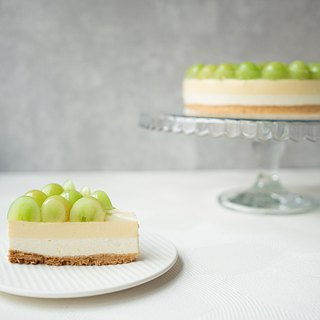 8 吋 white grape lemon raw cheesecake