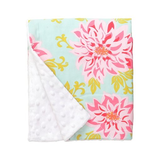 ♥ Baby Elephant Ear- Dahlia skin-friendly blankets / month indemnity gift organic cotton stroller special car seat accessories quick arrival