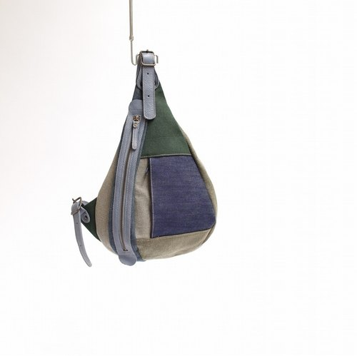 Shoulder bag · canvas patchwork