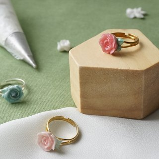 Rose Ring =Flower Piping= Customizable